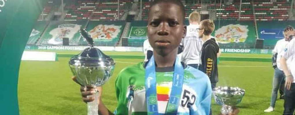 Coupe du monde de l'amitié édition 2018 en Russie : Un jeune béninois parmi l'équipe victorieuse