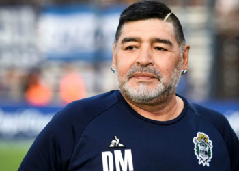 Diego Maradona (Photo DR)