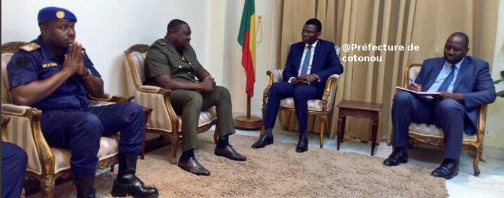 Bénin : Modeste Toboula chez Djogbénou hier