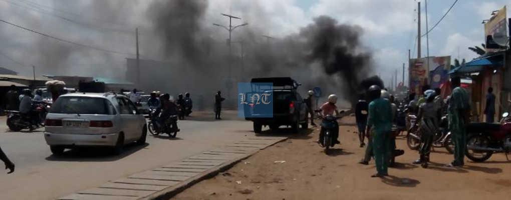 Commune de Calavi : Heurts entre des zémidjans et des forces de l'ordre