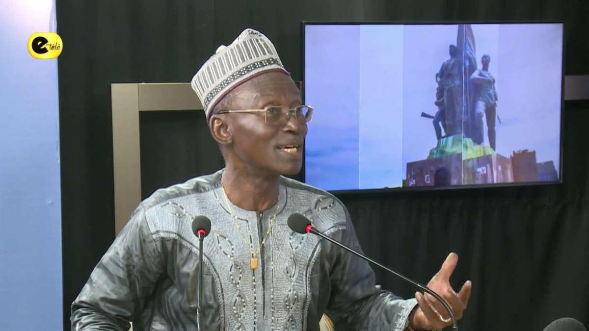 Me Aboubakar Baparape. Photo : capture écran E-Télé