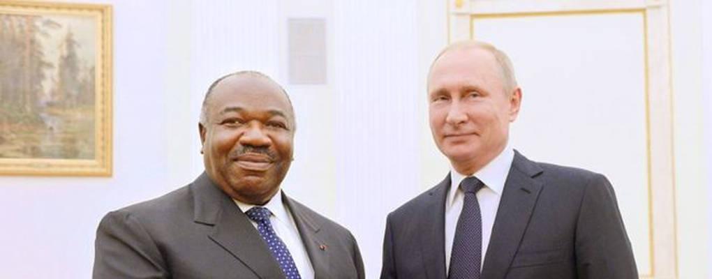 Ali Bongo à Vladimir Poutine : l'Afrique a besoin de la Russie