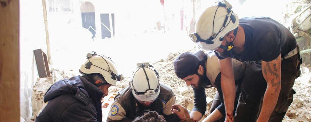 Syrie : des casques blancs exfiltrés par le Canada et le Royaume-Uni