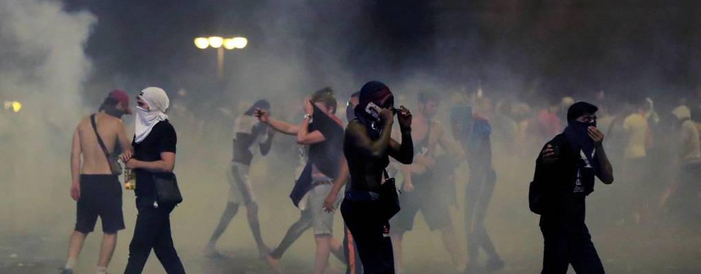 France: incidents après la victoire des bleus à la coupe du monde
