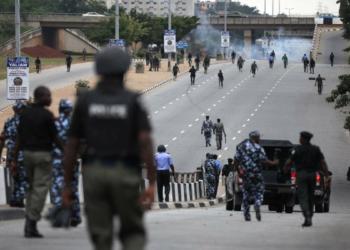 Des policiers nigérians (photo DR)