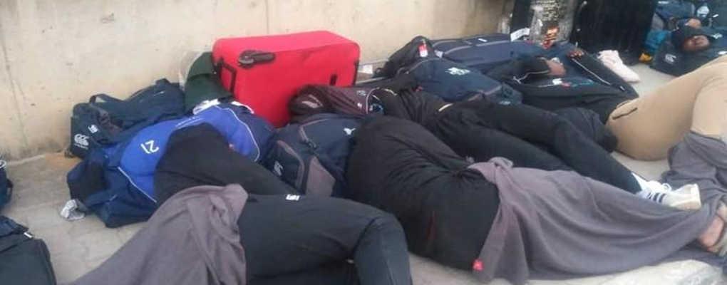 Scandale : l'équipe de rugby du Zimbabwe dort dans la rue en Tunisie