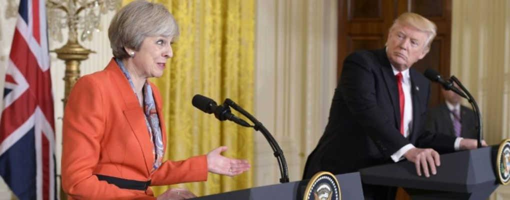 USA: Trump préfère discuter avec Poutine plutôt que Theresa May et critique l'Allemagne