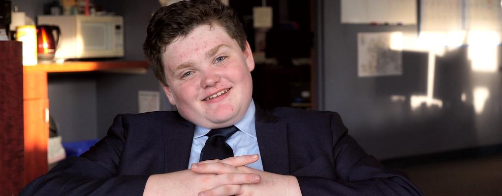 USA : Ethan Sonneborn, 14 ans, se présente aux élections