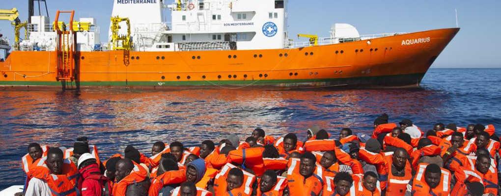 Accueil de migrants : l'Aquarius lance un message aux pays européens