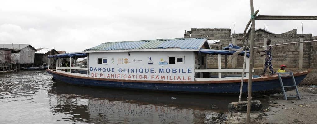 Bénin : Une clinique flottante au secours des femmes de la cité lacustre de Sô-ava
