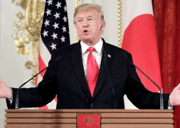 Président Donald Trump - KIYOSHI OTA / POOL / EPA-EFE / REX / SHUTTERSTOCK