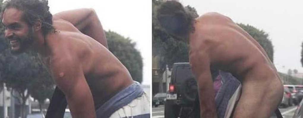 USA : le fils de Yannick Noah photographié en train de se déshabiller en pleine rue