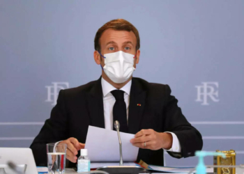 Emmanuel Macron (Photo : Thibault Camus. AFP)