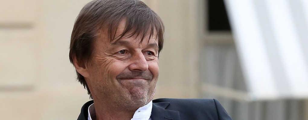 France : le ministre Nicolas Hulot en mauvaise posture
