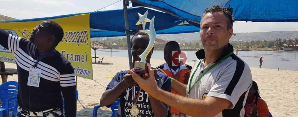 Coupe d'Afrique des nations de Beach Tchoukball : Les Ecureuils tchouckballeurs du Bénin champions