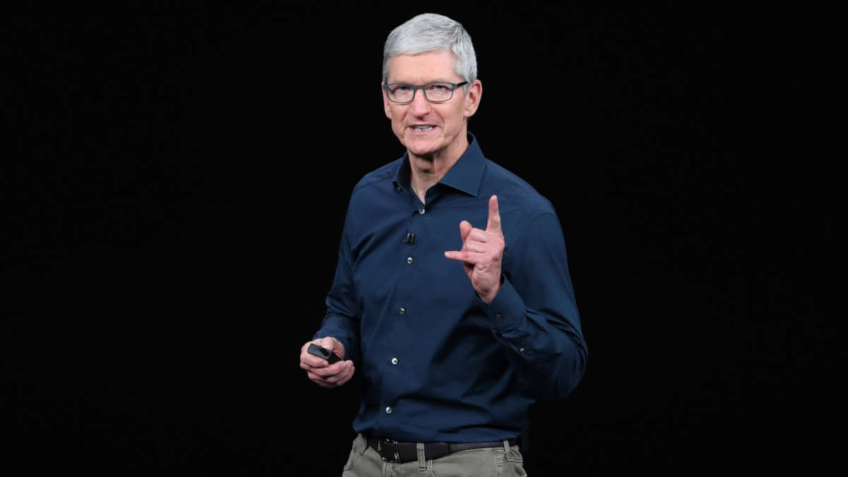 Tim Cook (photo de Justin Sullivan/Getty Image)