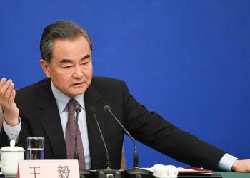 Wang Yi, ministre chinois des affaires étrangères. [Photo : AFP]
