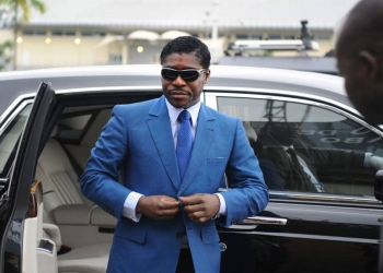 Teodorin Obiang (Photo de Jérôme Leroy)