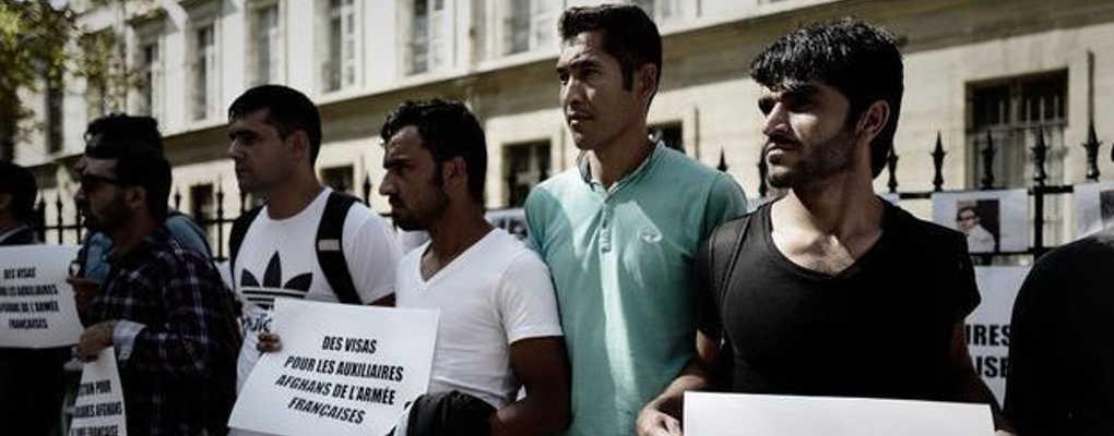 France : des Afghans demandent des visas pour avoir aidé l'armée