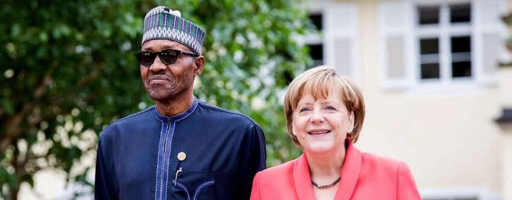 Nigéria : Buhari et Merkel parlent Immigration et élection