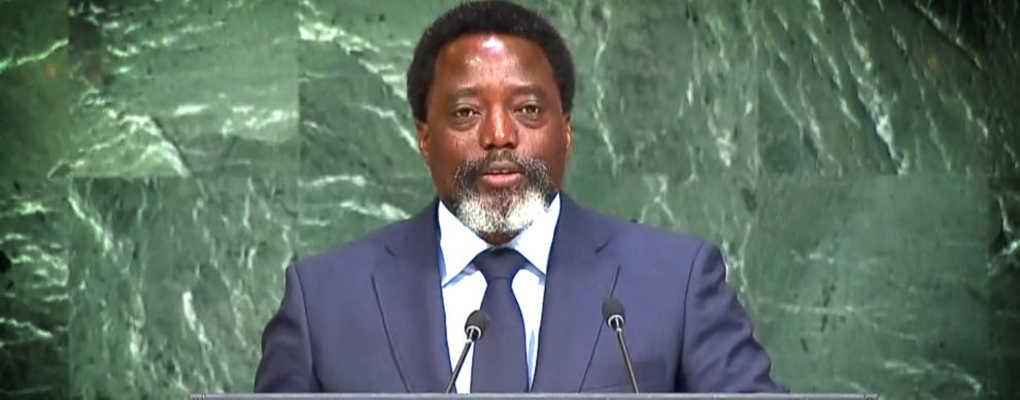 ONU : Kabila redemande le départ de la MONUSCO