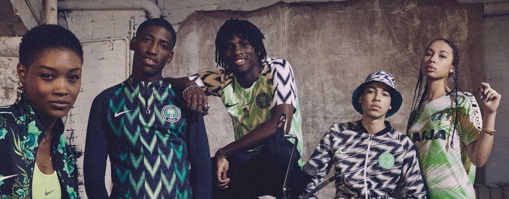 Coupe du monde : le maillot du Nigéria en lice pour remporter un prix
