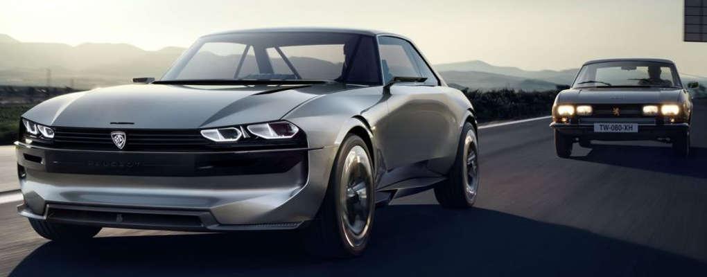 Mondial de l'automobile : Peugeot présente le futur successeur de la 504