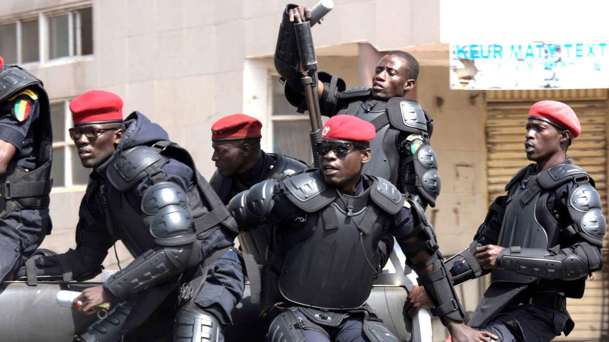 Des policiers sénégalais (Photo DR)