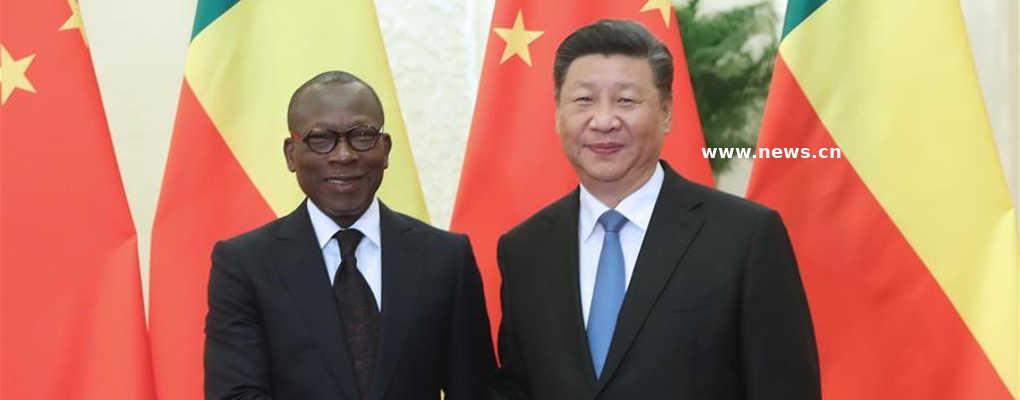 Le Bénin se développera plus rapidement en coopérant avec la Chine, selon Patrice Talon