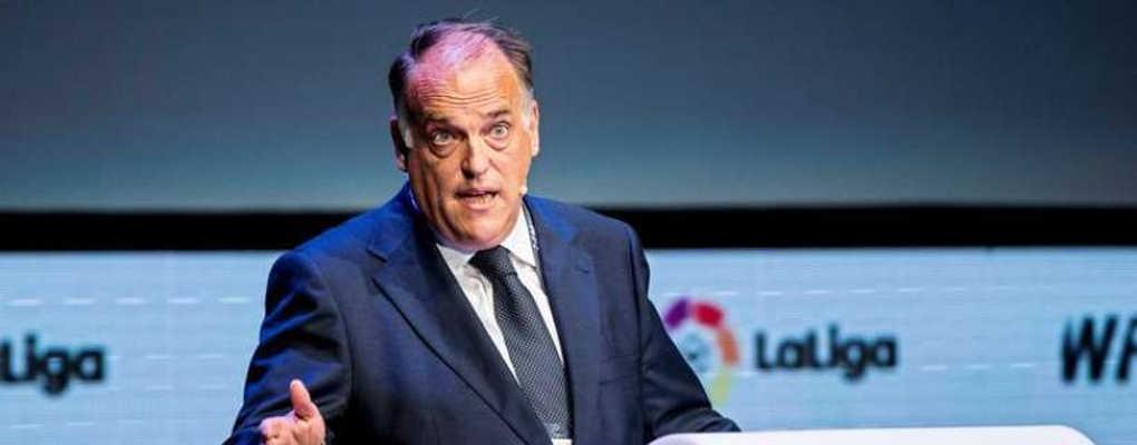 Football : le président de la ligue espagnole porte une grave accusation contre le PSG