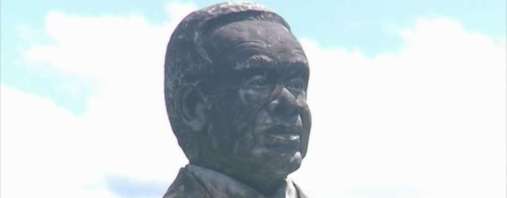 Martinique : la statue d'Aimé Césaire vandalisée