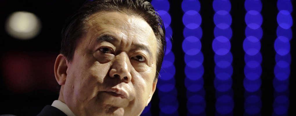 Interpol : le président a disparu après son retour en Chine