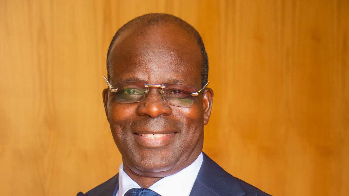 Raphaël Akotègnon, ministre de la décentralisation(Photo Présidence)