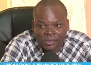 Robert Marc Dadaglo, Président de l'Unamab. Capture ecran : EDEN TV