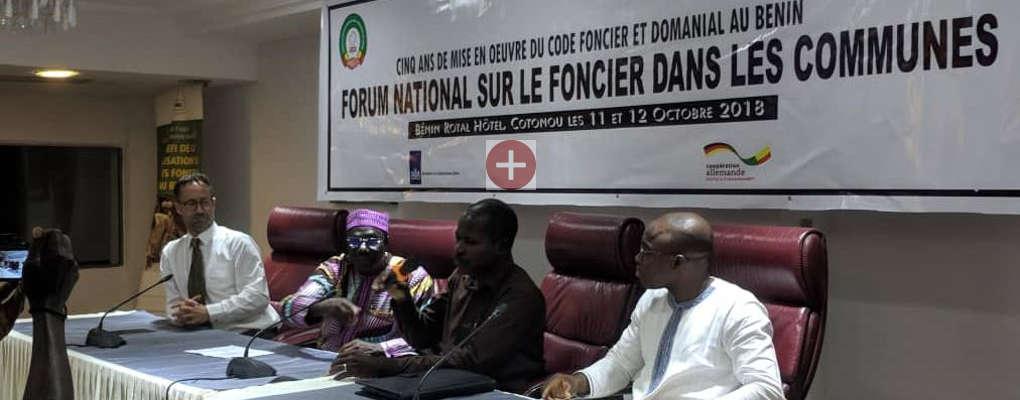 Forum national sur le foncier dans les communes : 05 ans de mise en œuvre du Code foncier et Domanial