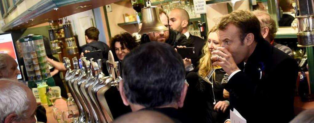 France : Quand Macron joue au citoyen normal