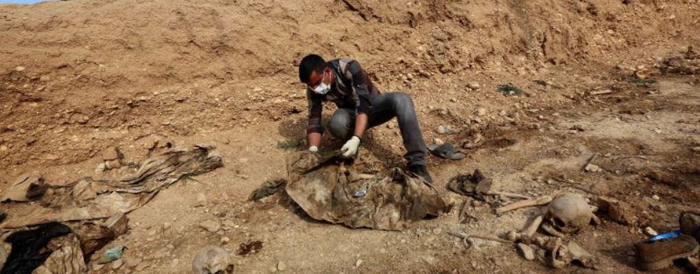 Irak : 12000 corps découverts après la fuite de Daesh