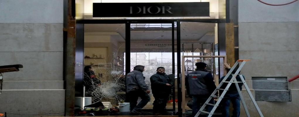 Gilets Jaunes : 1 million de produits volés chez Christian Dior