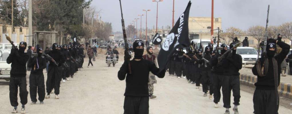 Des combattants de l'état islamique
