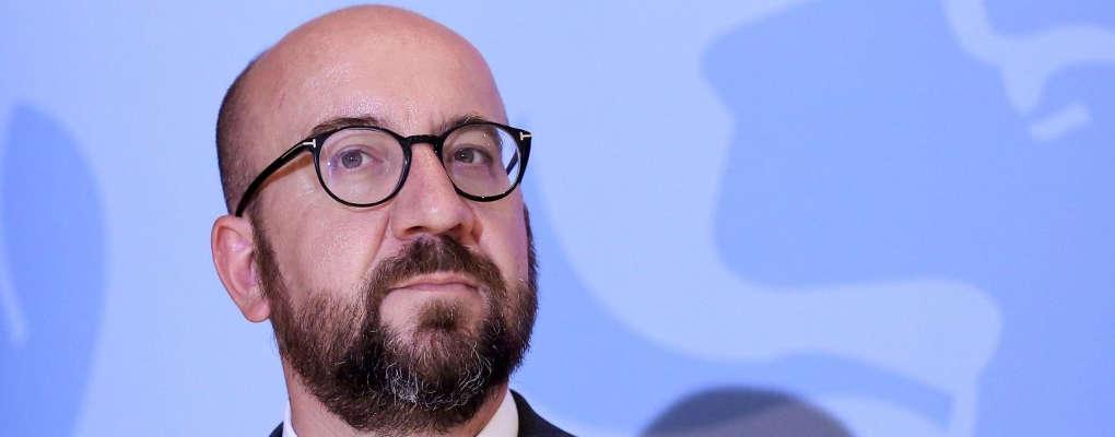 Charles Michel, Premier ministre de la Belgique