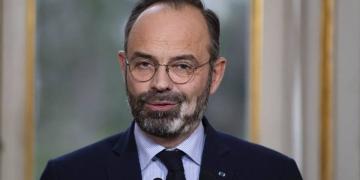 Edouard Philippe (Photo de Thomas SAMSON / POOL / AFP)