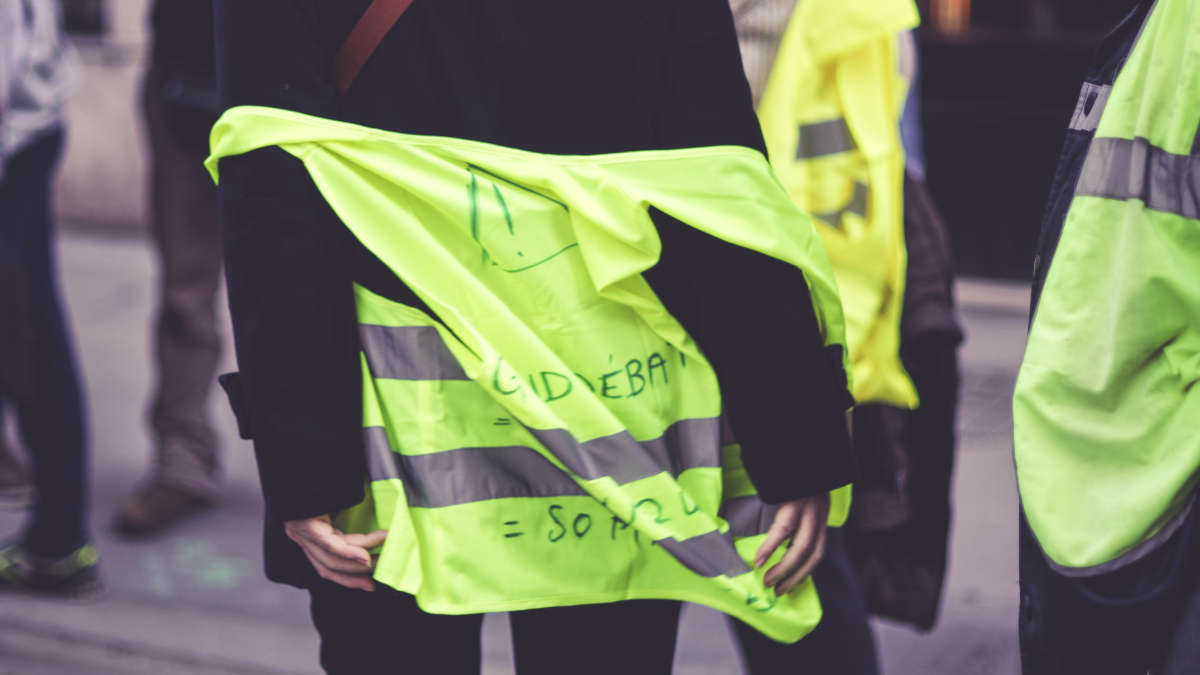 Des gilets jaunes(archives) Photo : Thomas Samson / AFP