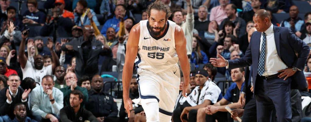 NBA : Joakim Noah qui brille avec les Grizzlies se confie sur sa période de chômage