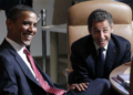 Barack Obama et Nicolas Sarkozy (Photo de Larry Downing / Reuters)