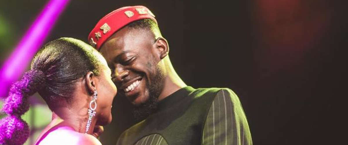 Simi et Adekunle Gold au concert de l'ancien à Lagos   Crédit photo: @ symplysimi / Instagram