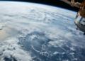 Une lune extraterrestre en formation capturée par des astronautes