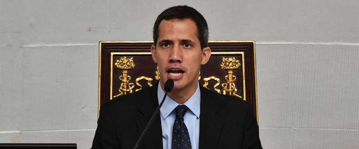 Juan Guaido | YURI CORTEZ / AFP