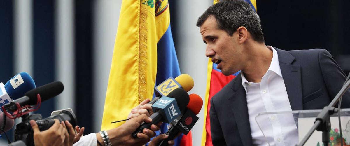 Juan Guaido | MIGUEL GUTIÉRREZ / EPA / MAXPPP