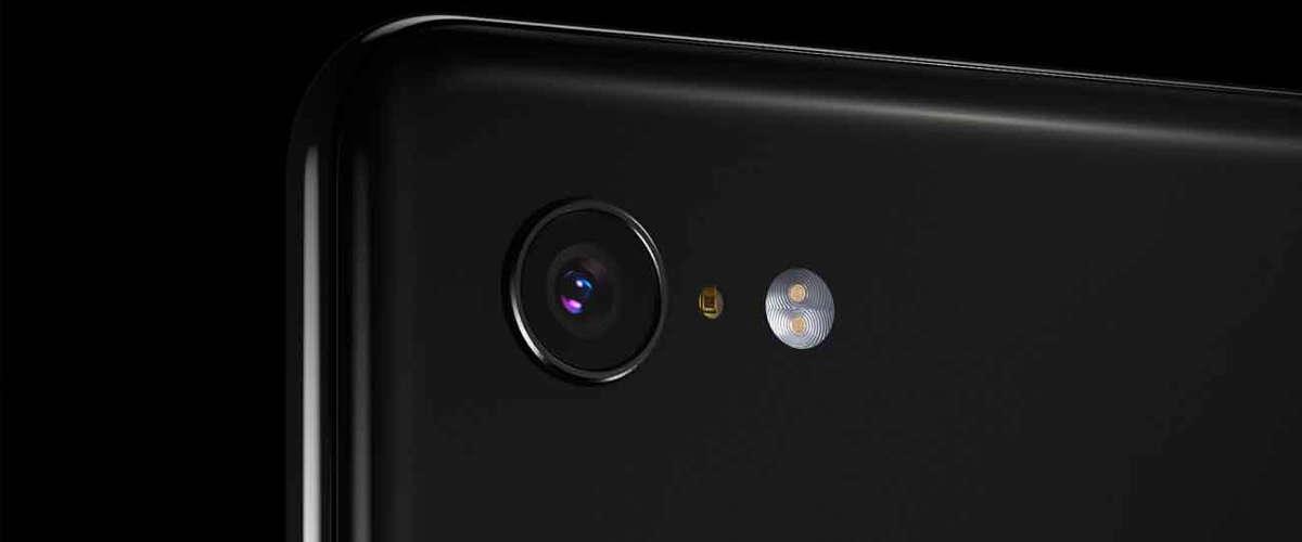 Appareil photo du Pixel 3