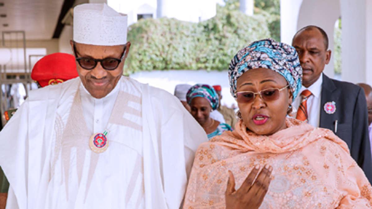 Aisha Buhari. PHOTO: TWITTER / AISHA M. BUHARI